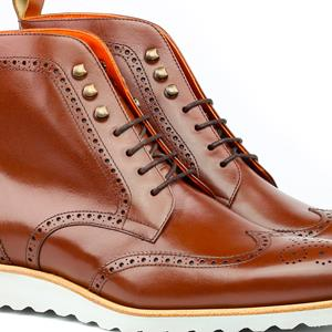 Dress Shoes Military Brogue