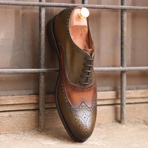 Handmade Patina Full Brogue