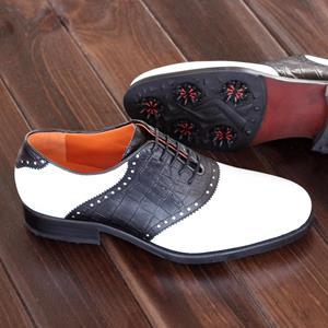 Golf Dress Shoes Saddle Golf