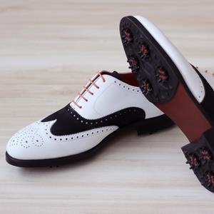 Golf Dress Shoes Full Brogue