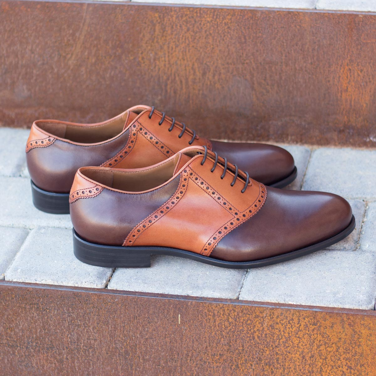 Dress Shoes Saddle