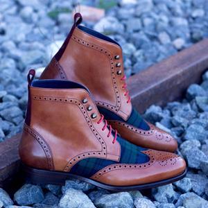 Dress Shoes Military Brogue