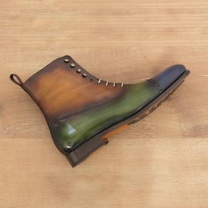 Handmade Patina Balmoral Boot